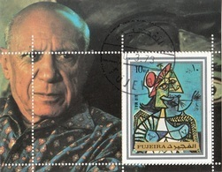 Fujeira 1973 Bf. 140A Quadro Dipinto Da P. Picasso - Nuovo Preobliterato Cubismo Paintings Tableaux - Sharjah