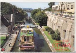 Canada Circulated Postcard - Ships - Rideau Canal - Hauseboat - Houseboats