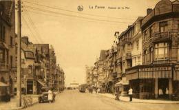 CPA - Belgique - De Panne - La Panne - Avenue De La Mer - De Panne