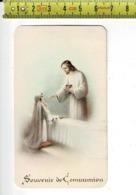 KL 10387 - COMMUNION - RAYMONDE LEFEBVRE - CROISILLES 1938 - Images Religieuses