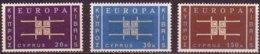 Chypre  Cyprus CEPT 1963 Yvertn° 217-219 *** MNH  Cote 70,00 Euro Europa - Europa-CEPT