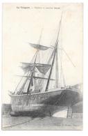 (25213-76) Le Treport - Voilier à Marée Basse - Le Treport