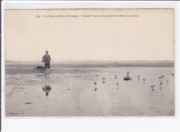 La Chasse En Baie De Somme - Chasseur Venant De Quitter Le Hutteau à Cerceaux - Très Bon état - Autres Communes