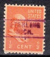 USA Precancel Vorausentwertung Preo, Locals Michigan, Sterling 729 - Vereinigte Staaten