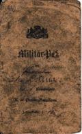 1914 - LIVRET MILITAIRE D'un PIONNIER Allemand - Bien Rempli - Documents Historiques