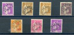 FRANCE 1930 PREOBLITERES N° 70/74/76/77 - 1893-1947