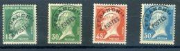 FRANCE 1920 PREOBLITERES N° 65/66/67/68 - 1893-1947