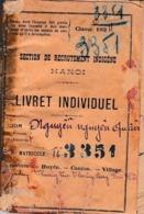 1924 - INDOCHINE - RECRUTEMENT INDIGÈNE - Rgt D'Infanterie Coloniale - Bilingue - Historical Documents