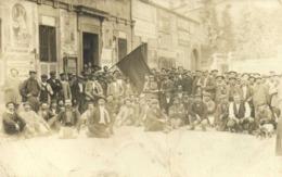 CARTE PHOTO  Greve Du Syndicat Des Camionneurs à Toulouse - Toulouse