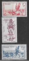 TOGO N°208 A 210 N** - Togo (1914-1960)