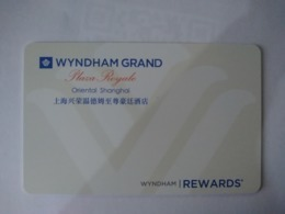 China Hotel Key, Wyndham Grand Plaza Royale Oriental Shanghai, (1pcs) - Chine