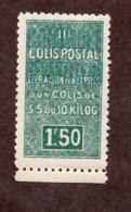Algérie Colis Postaux  N°43A   N** LUXE  Cote 75 Euros !!!RARE - Algerien (1924-1962)