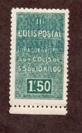 Algérie Colis Postaux  N°43A   N** LUXE  Cote 75 Euros !!!RARE - Algérie (1924-1962)