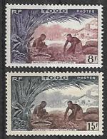 TOGO N°256 A 257 N** - Unused Stamps