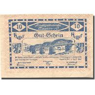 Billet, Autriche, Mautern, 10 Heller, Pont, 1920, 1920-12-31, SPL Mehl:FS 600IAb - Austria