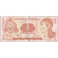 TWN - HONDURAS 96a - 1 Lempira 1.3.2012 Prefix EM - Printer: OBERTHUR FIDUCIARE UNC - Honduras