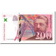 France, 200 Francs, Eiffel, 1996, TTB+, Fayette:75.3a, KM:159a - 1992-2000 Ultima Gama