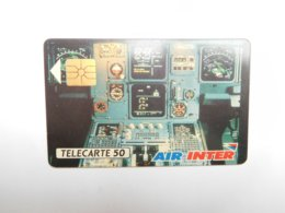 Télécarte Privée , Air Inter 1 , D216 , Cote : 25 Euros - Frankreich