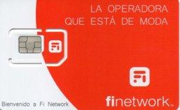 GSM SIM Card Movil -  Phonecard Mint FINETWORK . Telecarte. Tarjeta Telefono  For Collection - España