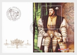 H01 Luxembourg 2019 100 Years 'Luxembourg Midwives Association' Charles V, Holy Roman Emperor  FDC - Lussemburgo
