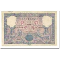 France, 100 Francs, Bleu Et Rose, 1899-04-17, TB+, Fayette:21.12, KM:65b - 1871-1952 Anciens Francs Circulés Au XXème