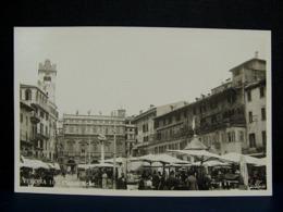(FP.NV09) VERONA - PIAZZA ERBE Animata, Mercato - Verona