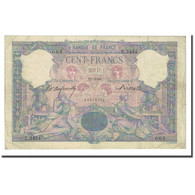 France, 100 Francs, Bleu Et Rose, 1898-03-17, TTB, Fayette:21.11, KM:65b - 1871-1952 Anciens Francs Circulés Au XXème