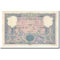 France, 100 Francs, Bleu Et Rose, 1899-07-04, TTB+, Fayette:21.12, KM:65b - 1871-1952 Anciens Francs Circulés Au XXème