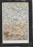 AK 0356  Landkarten-Karte Salzkammergut ( Admont-Linz ) - Verlag Brandt Um 1900-1910 - Landkarten