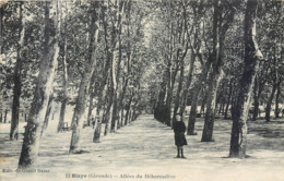 CPA 33 Gironde Blaye Allées Du Débarcadère - Blaye