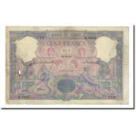 France, 100 Francs, Bleu Et Rose, 1897-10-14, B, Fayette:21.10, KM:65b - 1871-1952 Antichi Franchi Circolanti Nel XX Secolo