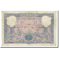 France, 100 Francs, Bleu Et Rose, 1899-04-08, TB+, Fayette:21.12, KM:65b - 1871-1952 Anciens Francs Circulés Au XXème