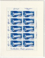 FRANCE BLOC FEUILLET PA AIRBUS A300-B4 1999/ PA F63a - F 63a 10 Timbres ** DANS L EMBALLAGE (sous Blister D'origine) - Luchtpost