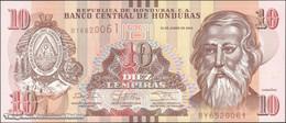 TWN - HONDURAS 99b - 10 Lempiras 2.6.2014 (2017) Prefix BY - Printer: OBERTHUR FIDUCIARE UNC - Honduras