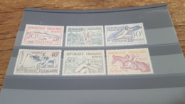 LOT 477624 TIMBRE DE FRANCE NEUF** LUXE N°960 A 965 - France