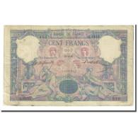 France, 100 Francs, Bleu Et Rose, 1897-02-27, B+, Fayette:21.10, KM:65b - 1871-1952 Anciens Francs Circulés Au XXème