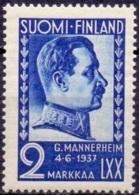FINLAND 1937 Mannerheim PF-MNH - Finland