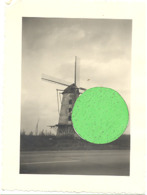 Photo ( +/- 6 X 9  Cm ) OORDEGEM ( Lede)  - Moulin à Vent, Molen- Foto Genomen Vóór Het Vuur. (b259) - Luoghi