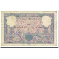 France, 100 Francs, Bleu Et Rose, 1895-03-06, TB, Fayette:21.8, KM:65b - 1871-1952 Anciens Francs Circulés Au XXème