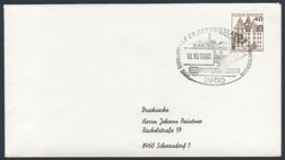 Deutschland Germany 1980 Brief Cover - Elektrisch Nach Ostfriesland - DB Fahrzeugschau / Vehicle Show - Treinen