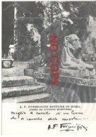 Formiggini A. F., Editore In Roma Visto Da Angelo Morpurgo, Autografo E Testo A Stampa. Giudaica. Modena. - Personaggi Storici