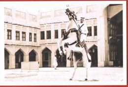 QATAR- In Celebration Of QATAR DAY-Cavalier Fantasia -  -scans Recto Verso-Paypal Sans Frais - Qatar