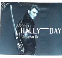 CD N°2956 - JOHNNY HALLYDAY - JE SERAIS LA  - COMPILATION 2 TITRES - Rock