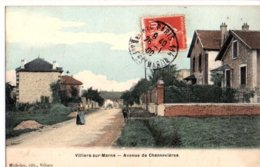 VILLIERS SUR MARNE 94 AVENUE CHENNEVIERES - Villiers Sur Marne