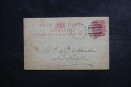 TASMANIE - Entier Postal Commercial De Hobart Pour New Norfolk En 1891 - L 46273 - 1853-1912 Tasmania