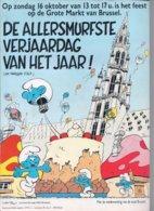 Brochure Groot Smurfenfeest 16 Oktober 1998 (Peyo) - Livres, BD, Revues