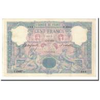 France, 100 Francs, Bleu Et Rose, 1900-02-10, TTB+, Fayette:21.13, KM:65b - 1871-1952 Anciens Francs Circulés Au XXème