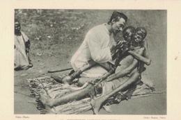 Missionnaire Soignant Des Lépreux ** Belle Cpa PAS COURANTE  (voir Description) ** N°44 - Salute