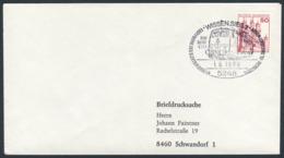 Deutschland Germany 1980 Brief Cover - Eröffnung Elektrifizierten Siegstrecke, Wissen - Baureihe E111/ Electrified Track - Treinen