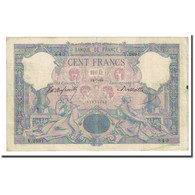 France, 100 Francs, Bleu Et Rose, 1899-07-24, TB+, Fayette:21.12, KM:65b - 1871-1952 Anciens Francs Circulés Au XXème